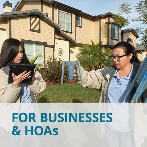 For Businesses and HOAs