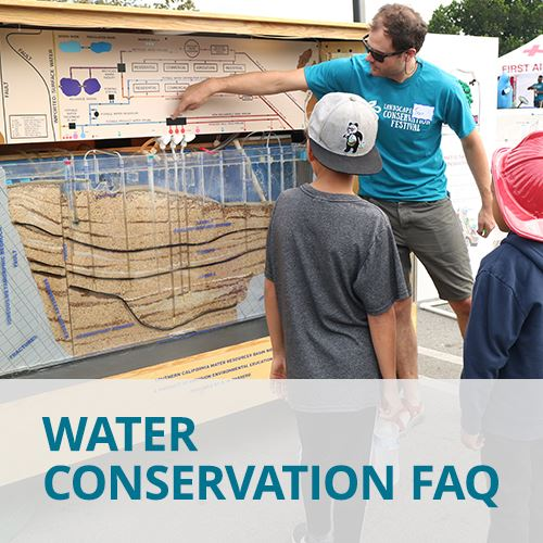 Water Conservation FAQ