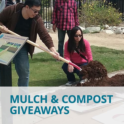 Mulch Compost Giveaways