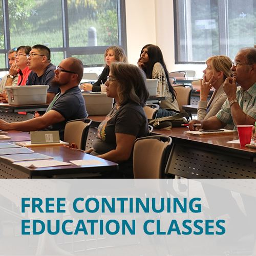 Free Continuing Education Classes