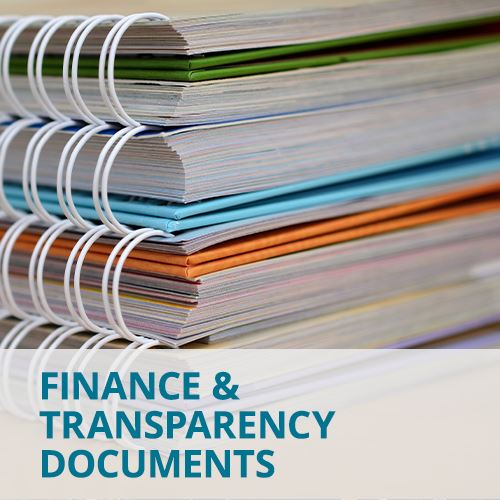 Finance & Transparency Documents
