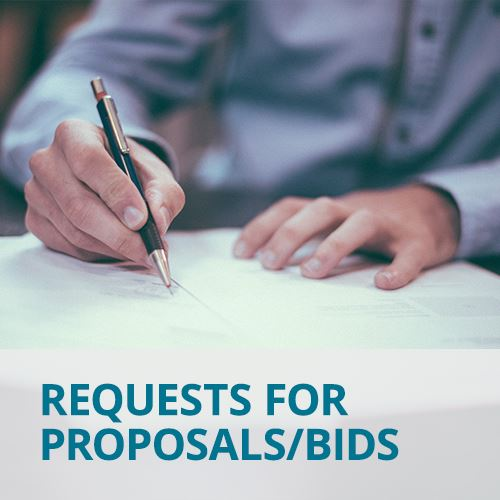 Requests for Proposals Bids