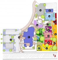 WCC campus map