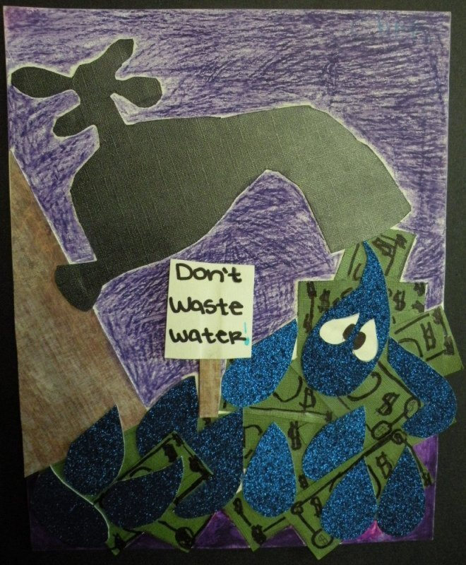 Honorable Mention: Chris Garcia, sixth grade