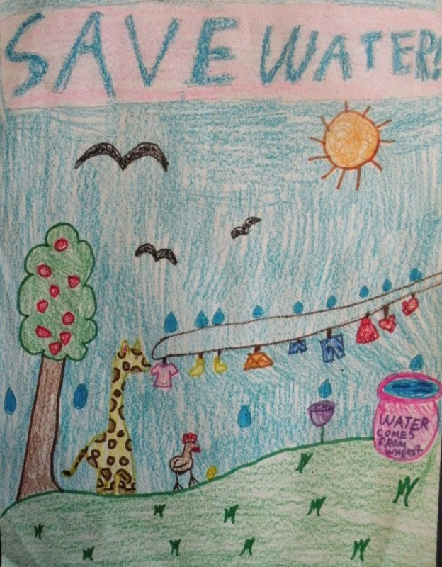 Honorable Mention: Doris Zhang, fourth grade