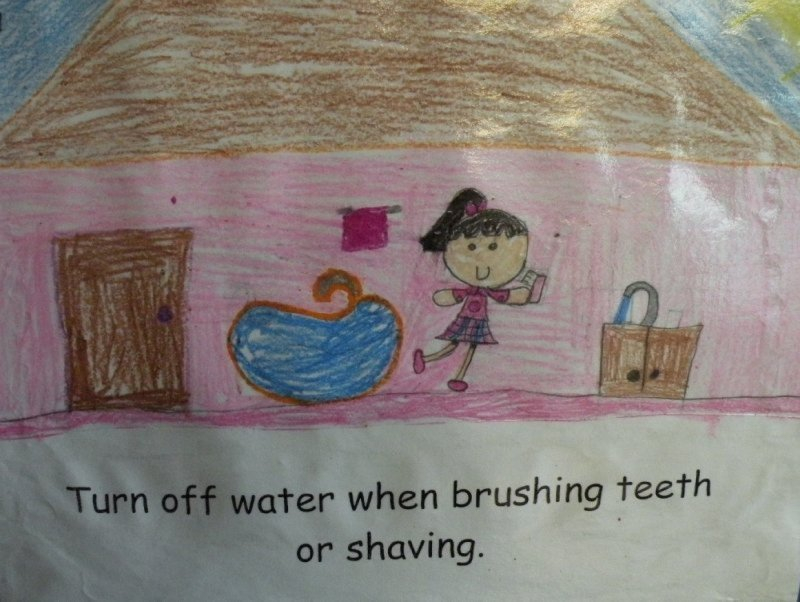 Honorable Mention: Maritza Fuentes, second grade